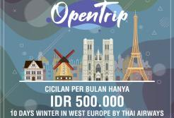 CICILAN OPENTRIP WINTER IN WEST EUROPE