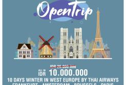 OPENTRIP WINTER IN WEST EUROPE